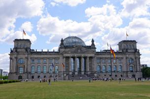 ドイツ ベルリン ドイツ連邦議会議事堂の写真素材 [FYI00063822]