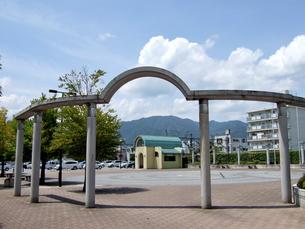 長野 飯田 駅前広場の写真素材 [FYI00063845]