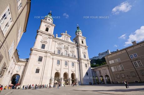 オーストリア ザルツブルク大聖堂の素材 [FYI00064187]