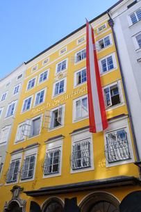 オーストリア ザルツブルク モーツアルトの生家の写真素材 [FYI00064188]