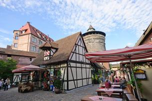 ドイツ ニュルンベルクの町並み の素材 [FYI00064269]