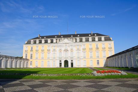 ドイツ ブリュール アウグストゥスブルク城の素材 [FYI00064310]