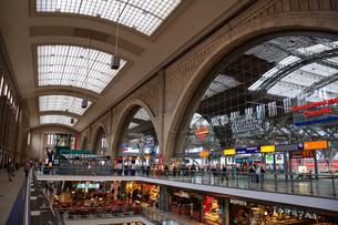 ドイツ ライプツィヒ中央駅の写真素材 [FYI00064340]