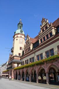 ドイツ ライプツィヒ 旧市庁舎の写真素材 [FYI00064351]