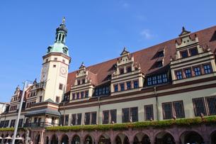 ドイツ ライプツィヒ 旧市庁舎の写真素材 [FYI00064356]