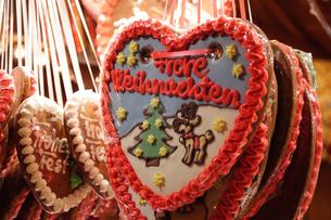 ドイツのクリスマスマーケット レープクーヘンの素材 [FYI00064365]