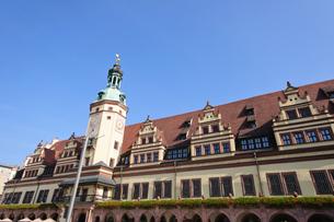 ドイツ ライプツィヒ 旧市庁舎の写真素材 [FYI00064369]