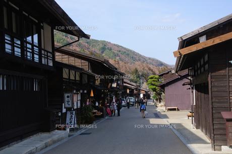 奈良井宿の写真素材 [FYI00064503]