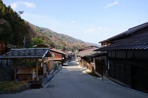 奈良井宿の写真素材 [FYI00064504]