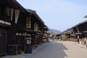 奈良井宿の写真素材 [FYI00064508]