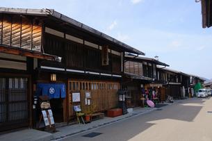 奈良井宿の写真素材 [FYI00064513]