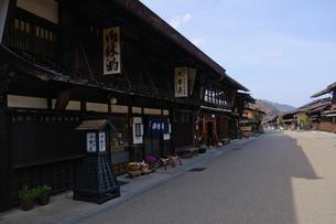 奈良井宿の写真素材 [FYI00064515]