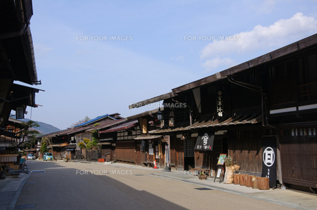 奈良井宿の写真素材 [FYI00064516]