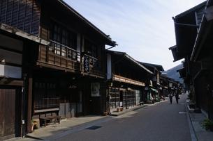 奈良井宿の写真素材 [FYI00064517]