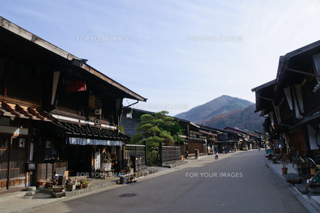 奈良井宿の写真素材 [FYI00064519]
