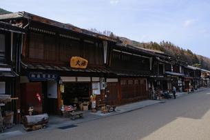 奈良井宿の写真素材 [FYI00064523]