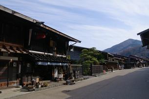 奈良井宿の写真素材 [FYI00064527]