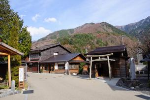 奈良井宿の写真素材 [FYI00064528]