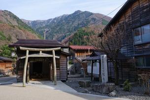 奈良井宿の写真素材 [FYI00064529]