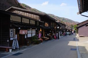 奈良井宿の写真素材 [FYI00064532]