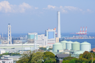 京浜工業地帯の写真素材 [FYI00064533]