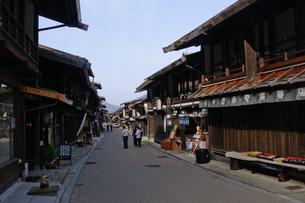奈良井宿の写真素材 [FYI00064539]