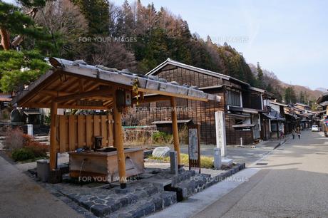 奈良井宿の写真素材 [FYI00064540]