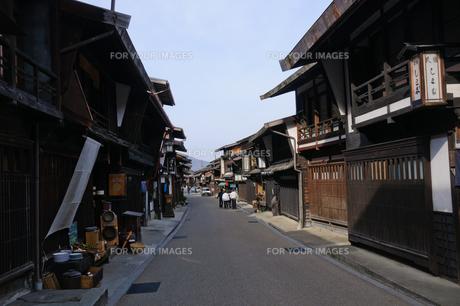 奈良井宿の写真素材 [FYI00064541]