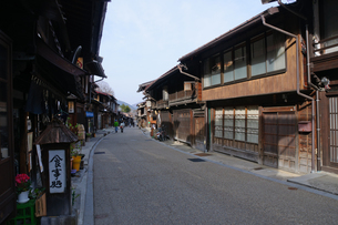 奈良井宿の写真素材 [FYI00064544]