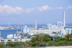京浜工業地帯の写真素材 [FYI00064547]