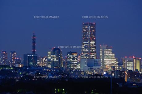 横浜市の夜景の素材 [FYI00064555]