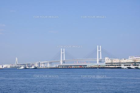 横浜ベイブリッジの素材 [FYI00064567]