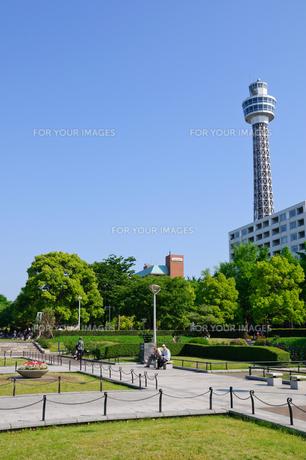 横浜 山下公園の素材 [FYI00064598]