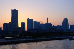 横浜 みなとみらい21の写真素材 [FYI00064599]