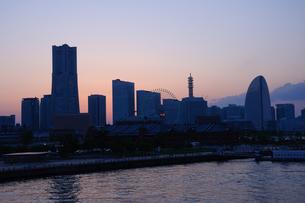 横浜 みなとみらい21の写真素材 [FYI00064610]