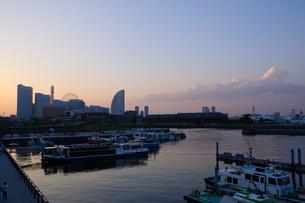 横浜 みなとみらい21の写真素材 [FYI00064620]