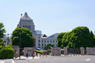 東京 国会議事堂の写真素材 [FYI00064718]