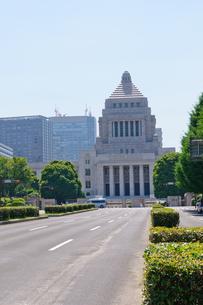 東京 国会議事堂の写真素材 [FYI00064736]