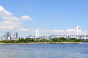 東京 お台場海浜公園からの眺めの素材 [FYI00064865]