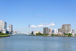 東京 スカイツリーと隅田川の素材 [FYI00064871]