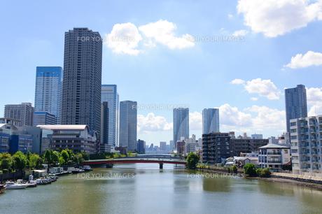 東京 佃の風景の素材 [FYI00064881]