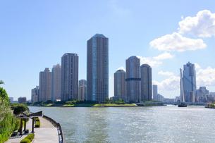 東京 大川端リバーシティの素材 [FYI00064882]