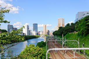 東京 外堀の風景の素材 [FYI00064884]