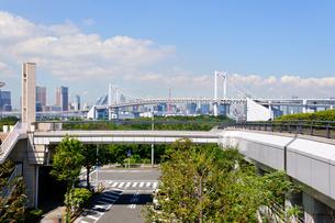 東京 お台場海浜公園からの眺めの素材 [FYI00064887]