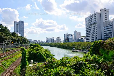 東京 外堀の風景の素材 [FYI00064895]