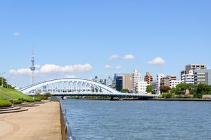 東京 スカイツリーと隅田川の素材 [FYI00064899]