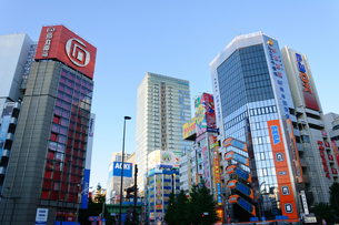 東京 秋葉原の町並みの写真素材 [FYI00064906]