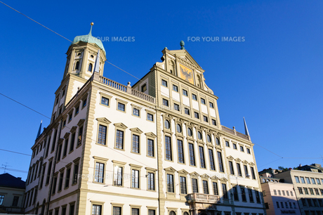 ドイツ アウクスブルク 市庁舎の素材 [FYI00064924]