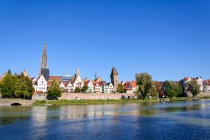 ドイツ ウルムの町並みの素材 [FYI00064935]