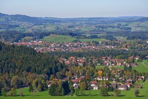 ドイツ フュッセンの町並みの素材 [FYI00064991]